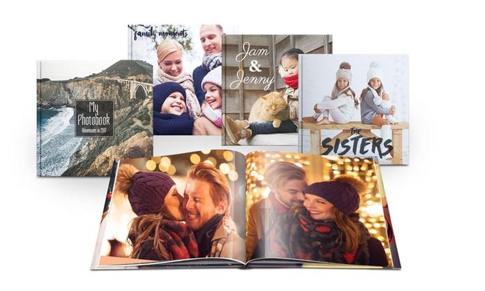 Printer Pix [Fotolibro cuadrado con tapa dura de 20, 40, 60 o 100 páginas desde 4,99 €]
