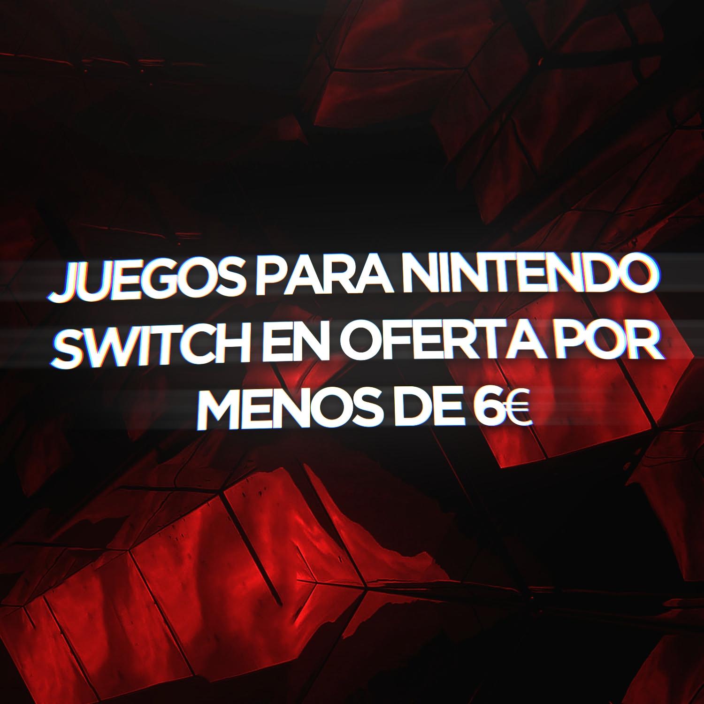 Juegos Para Nintendo Switch en Oferta por menos de 6€ + GANADORES CHOLLOLOGOS