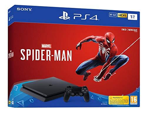 PS4 1Tb Chasis F + Spiderman