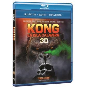 Kong Skull Island 3D - DÍAS FNAC (15% SOCIOS)
