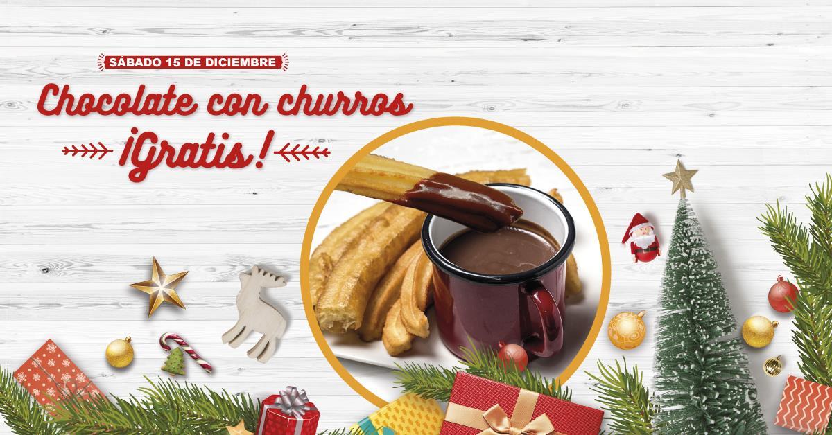 Chocolate con churros GRATIS en Santander