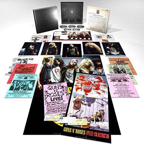 Appetite For Destruction - Reedición remasterizada del primer álbum de los Guns N Roses