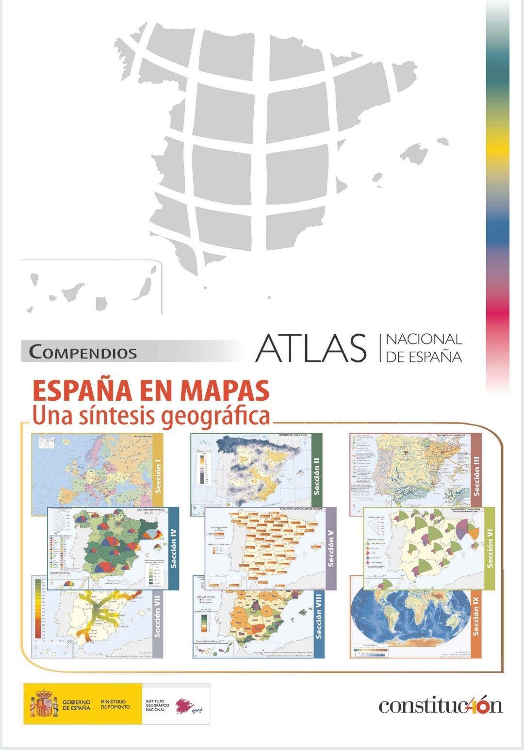 """Libro """"España en Mapas"""" en PDF"""