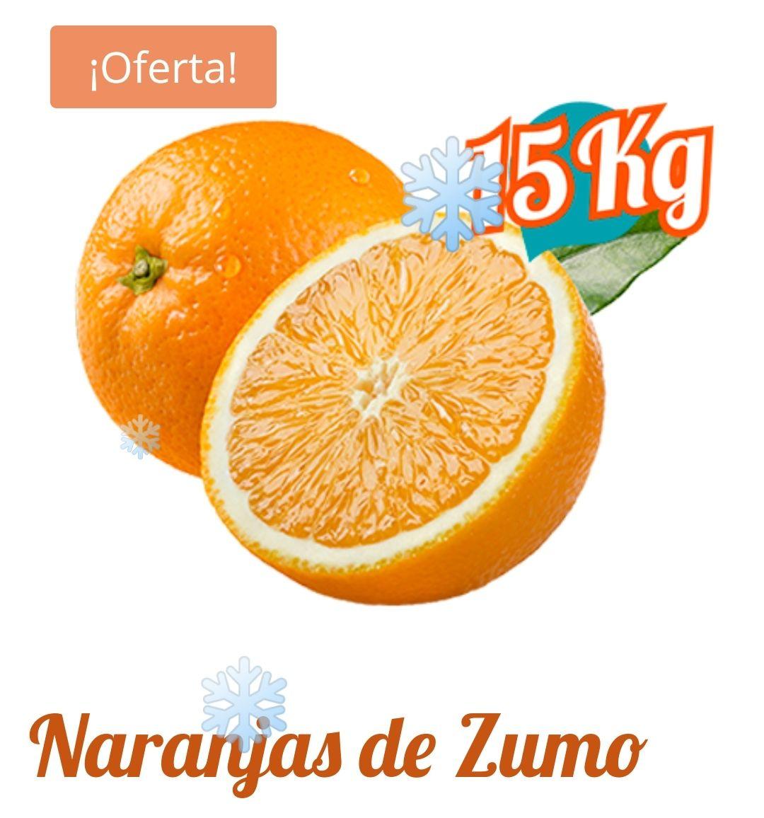 15Kg naranja valenciana 100%