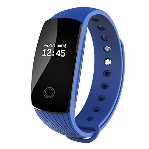 Pulsera fitness con monitor de ritmo cardíaco