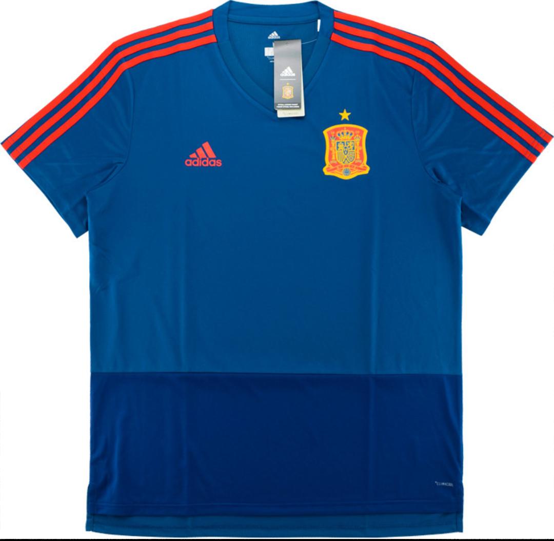Camiseta de entrenamiento de la Selección Española