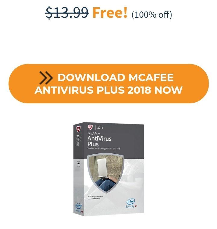 McAfee Antivirus Plus 2017 GRATIS
