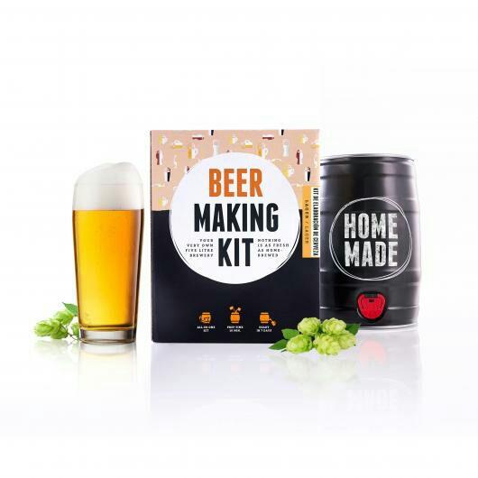 Kit completo para elaborar 5 L Cerveza tipo Lager, Brewbarrel