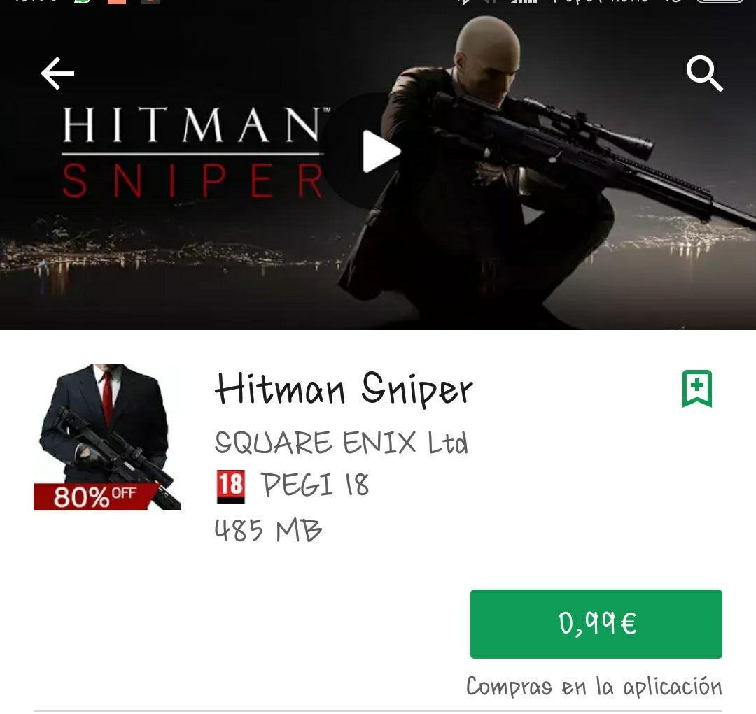Hitman Sniper al 80%