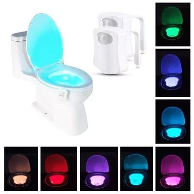 8 colores LED para inodoro