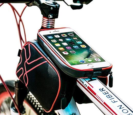 Bolso para bicicletas resistente al agua