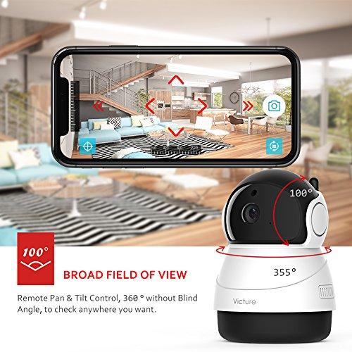 Cámara IP WiFi 1080P FullHD con visión nocturna y audio de dos vías [Amazon.es]