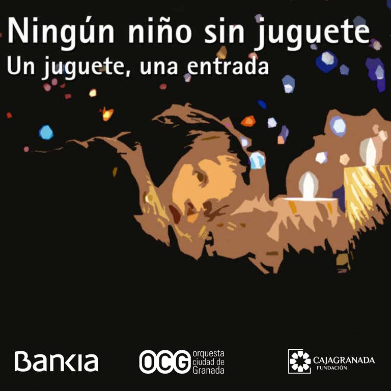 Concierto solidario en Granada: Ningún niño sin juguete.