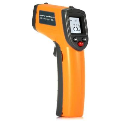 Termometro laser con LCD