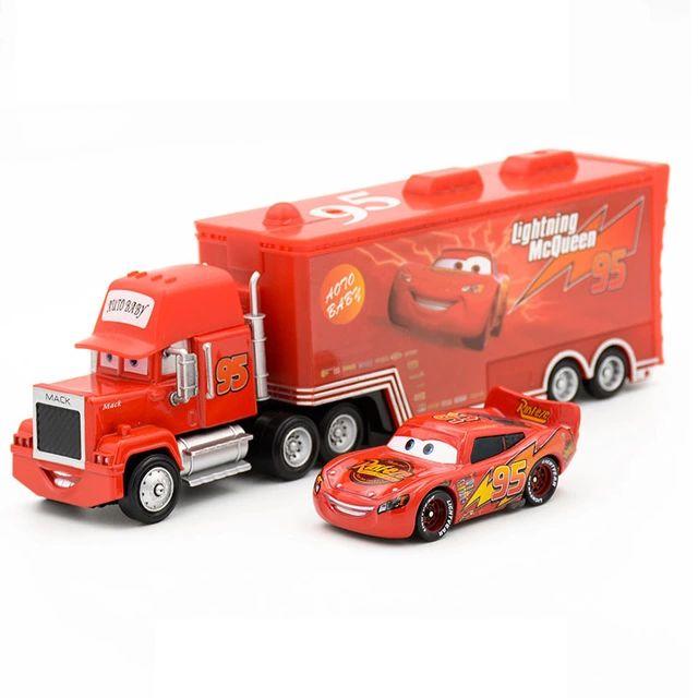 Camión + coche de la película Cars
