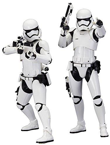 Star Wars - Stormtrooper first order pack 2 figuras, 18 cm por 51,45€ (50% Descuento)