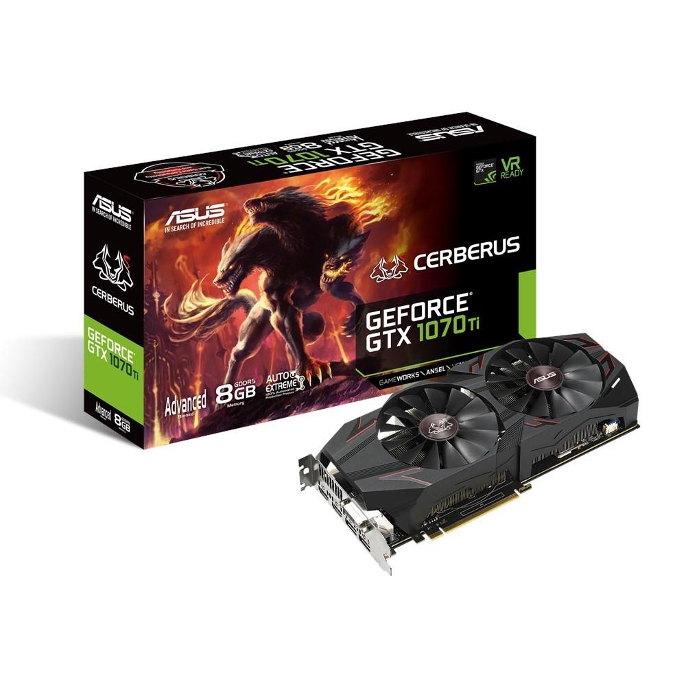 ASUS GeForce GTX 1070 Ti CERBERUS Advanced - Tarjeta Gráfica