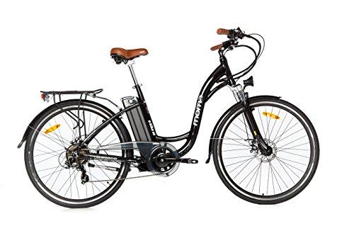 "Moma Bikes Bicicleta Electrica, Urbana EBIKE-28"""