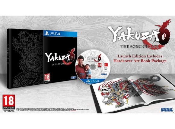 PS4 Yakuza 6: the Song of Life