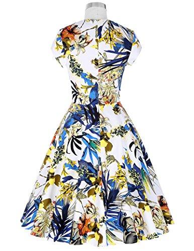 Vestidos de primavera verano estilo vintage diferentes modelo desde 1.5€