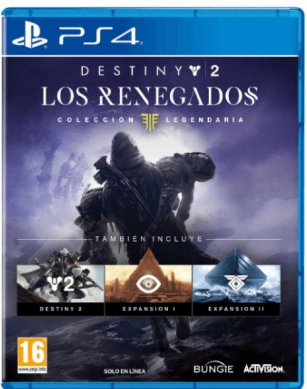 Destiny 2: Los Renegados colección legendaria + DLC de alijo excepcional de Cayde de regalo