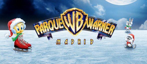 ¡Entrada de dos días consecutivos al Parque Warner de Madrid en Navidad!