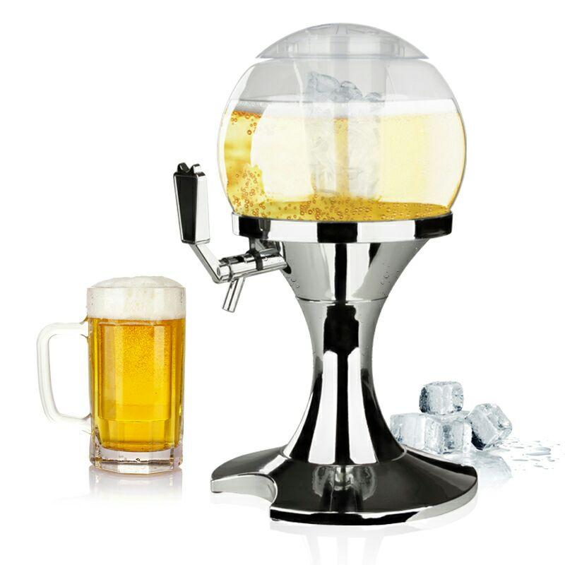 Dispensador de cerveza  Con Recipiente Extraíble Para Hielo En El Centro
