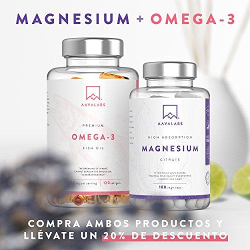 Suplemento de citrato de magnesio [ 400 mg ] de Aava Labs