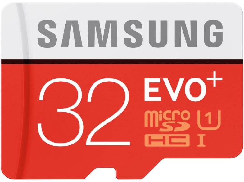 Tarjeta microSD - 32 Gb Samsung EVO Plus