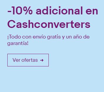 Ebay Vuelve el 10% de Cash Converters