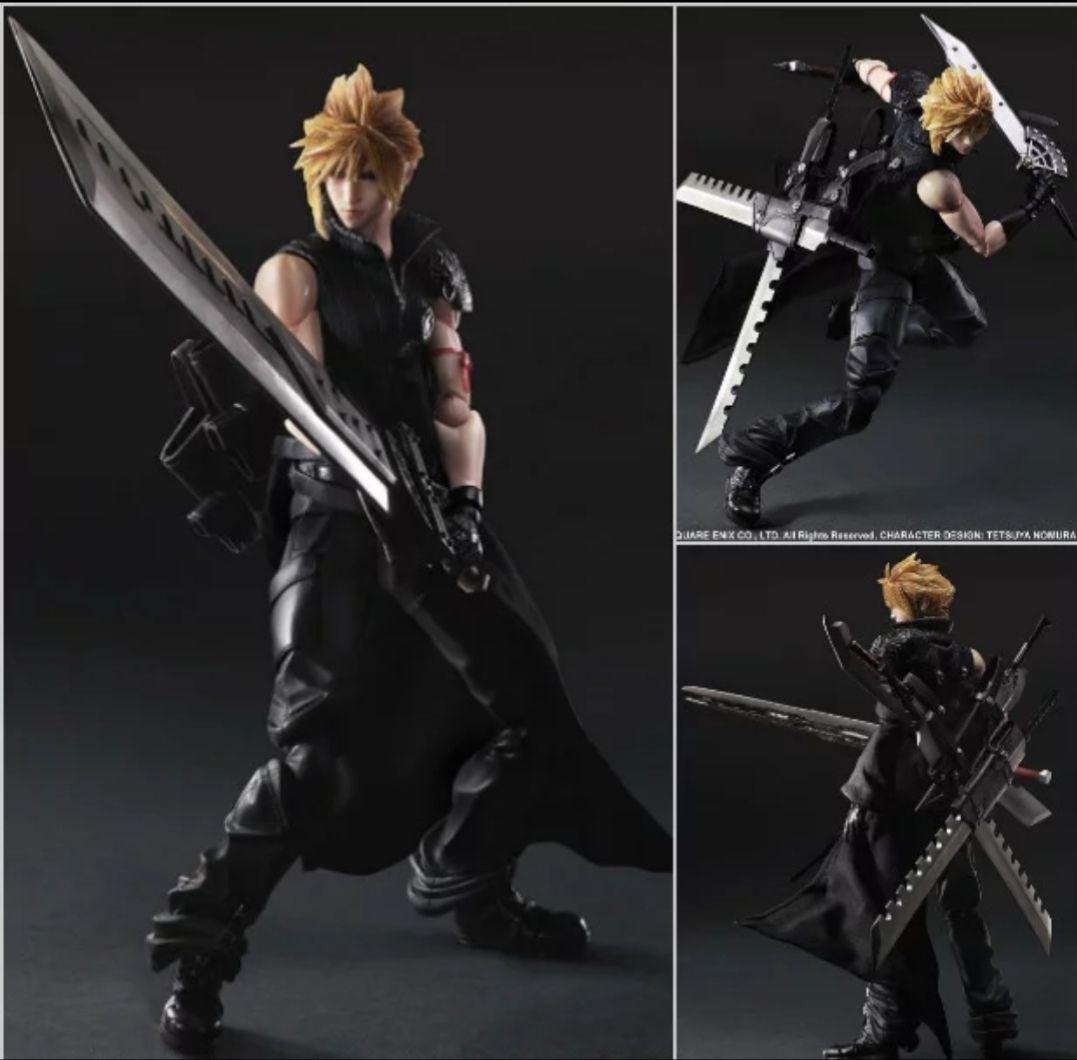 Figura de Cloud Strife 25 cm de Final Fantasy VII