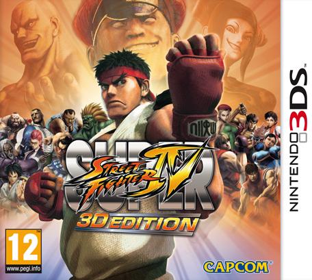 Super Street Fighter IV 3D Edition Digital. 3DS