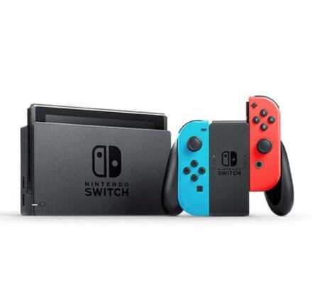 """Consola - Nintendo Switch, 6.2"""", Joy-Con, Azul y Rojo Neón"""