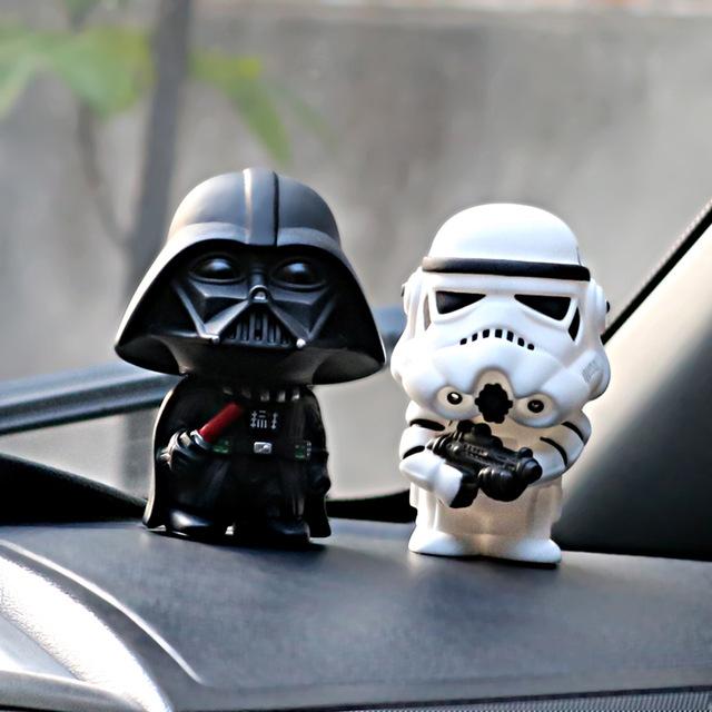 Set de figuras Darth Vader + Stormtrooper