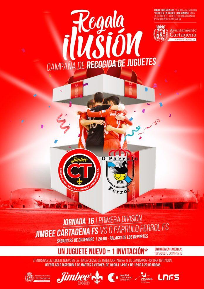 LNFS Gratis Cartagena - O Parrulo Ferrol 1 juguete por 1 entrada