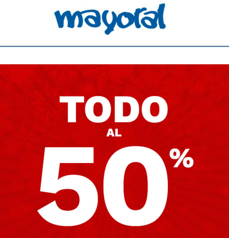 MAYORAL: 2° REBAJAS - TODO AL 50%