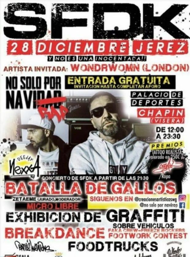Concierto GRATIS de SFDK en Jerez!!!!!