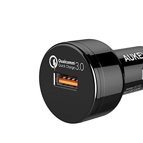 AUKEY Quick Charge 3.0 Cargador de Coche 24W