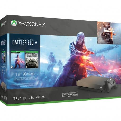 Xbox One X con Battlefield V