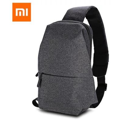 Mochila Xiaomi  gris oscuro