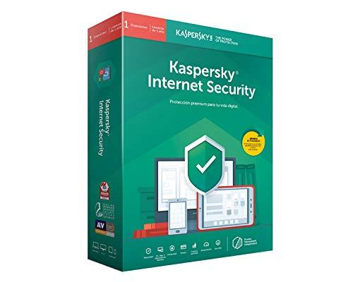 Kaspersky Software ANTIVIRUS 2019 Internet Security MULTIDEVICE 1 Licencia