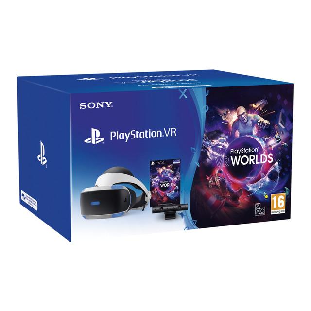Gafas Playstation VR V2 + Cámara + Juego VR Worlds (descarga) PS4 + Juego Astro Bot