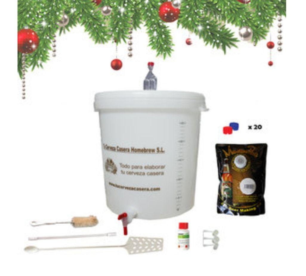 Kit para elaboración de cerveza casera. Incluye ingredientes para 20 litros de cerveza!!