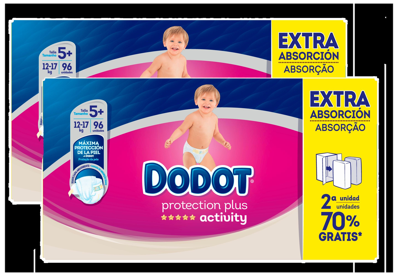 Dodot Activity Protection Plus T5 Pañales adicionales (192Pañales en formato de ahorro Envío gratuito)