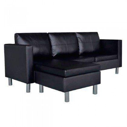 Sofa Chaise Longe- Negro (GRATIS gastos de envio)