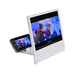 Lupa Amplificadora de pantalla HD de 2X-4X aumentos con soporte