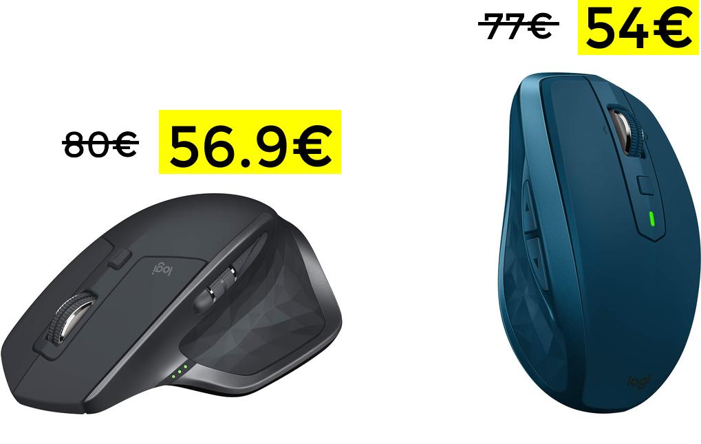 Logitech Mx master 2s solo 56.9€