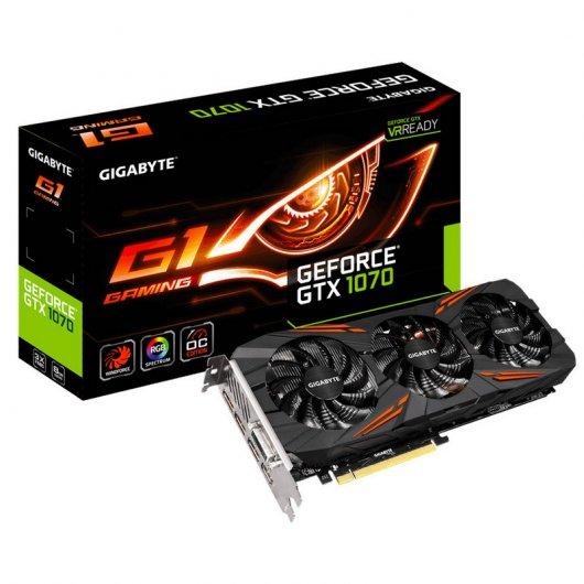 Gigabyte GeForce GTX 1070 G1 Gaming 8GB GDDR5