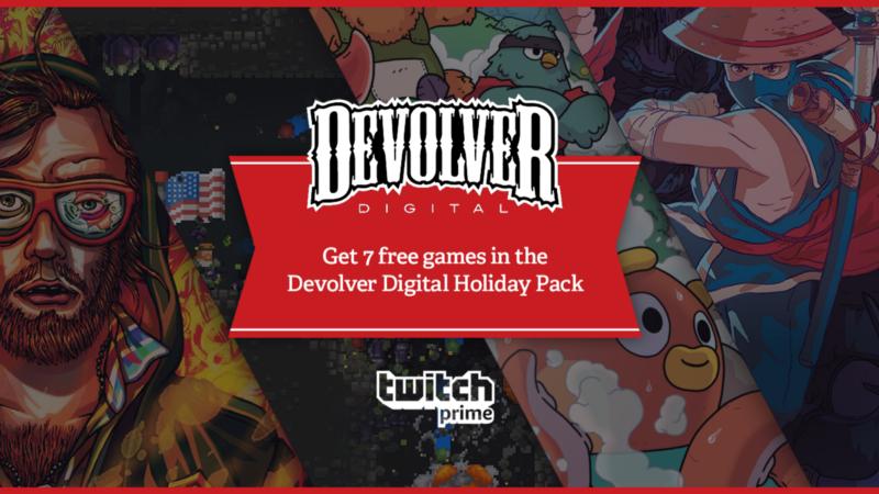 Twitch Prime: Devolver digital 7 juegos GRATIS