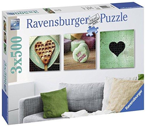 Puzzle Ravensburger 3x500 piezas 9€